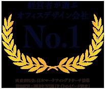 経営者が選ぶオフィスデザイン会社No.1