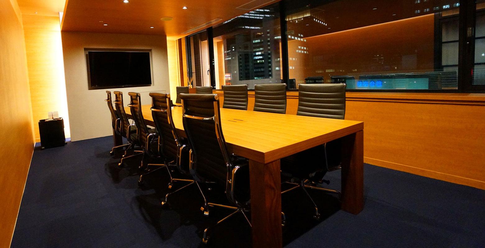 弁護士法人アドバンス 東京事務所_オフィス移転_施工_会議室