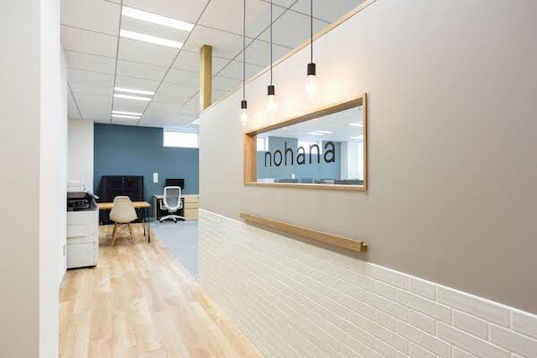 オフィスデザイン事例|株式会社ノハナ3