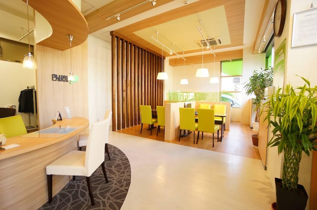 オフィスデザイン事例|ピタットハウス東大島店
