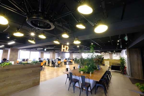 オフィスデザイン事例|株式会社 H22