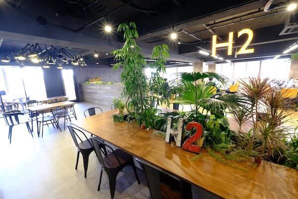 オフィスデザイン事例|株式会社 H24