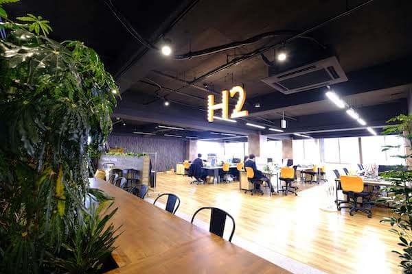 オフィスデザイン事例|株式会社 H25