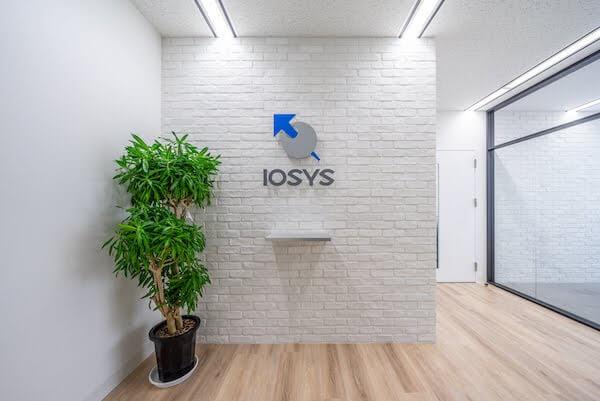 オフィスデザイン事例|株式会社イオシス 観葉植物の効果的な配置