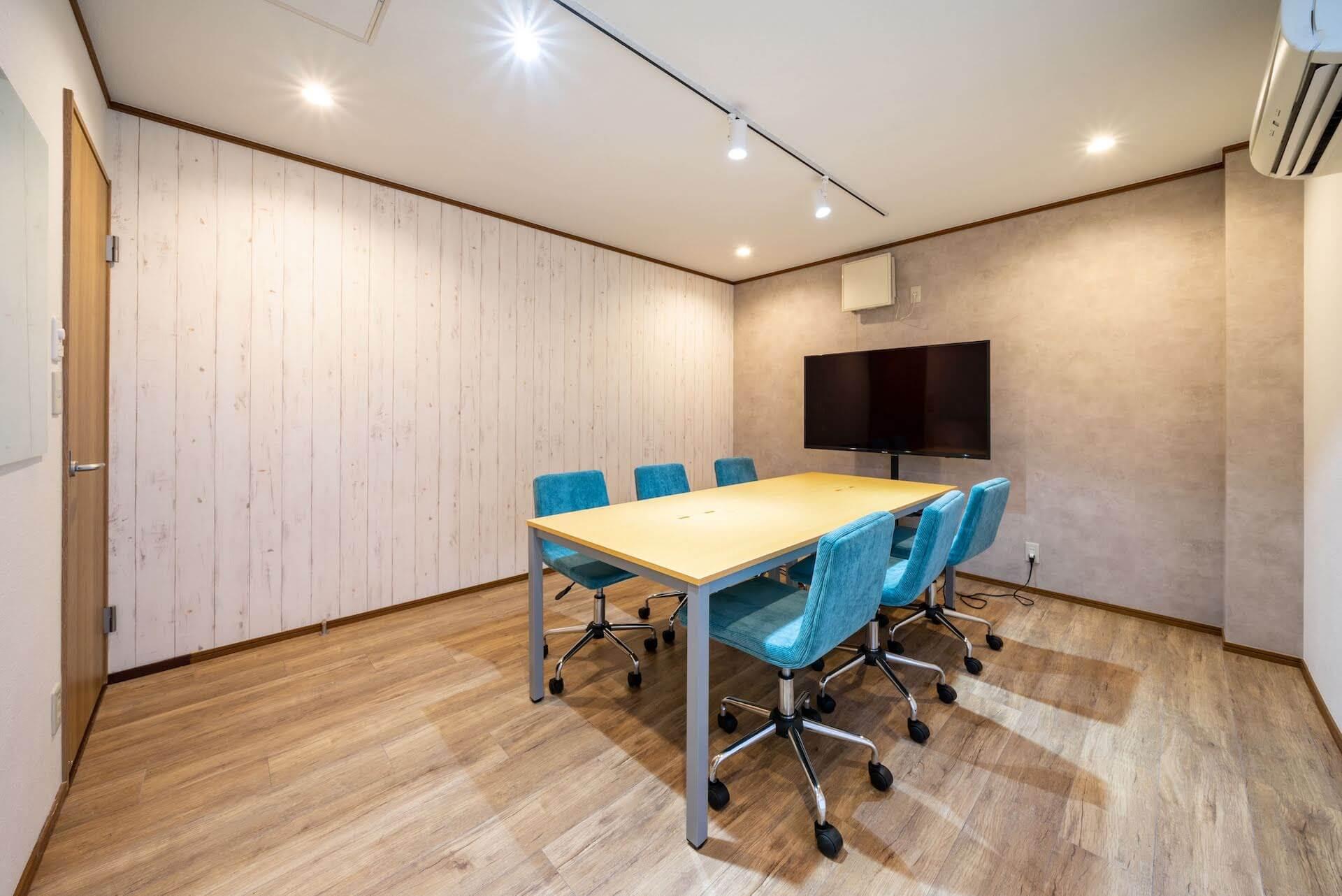 オフィスデザイン事例|株式会社明治クッカー__会議室