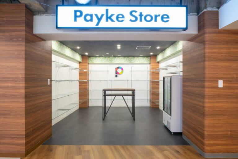 こだわりがたくさん詰まったPayke Store