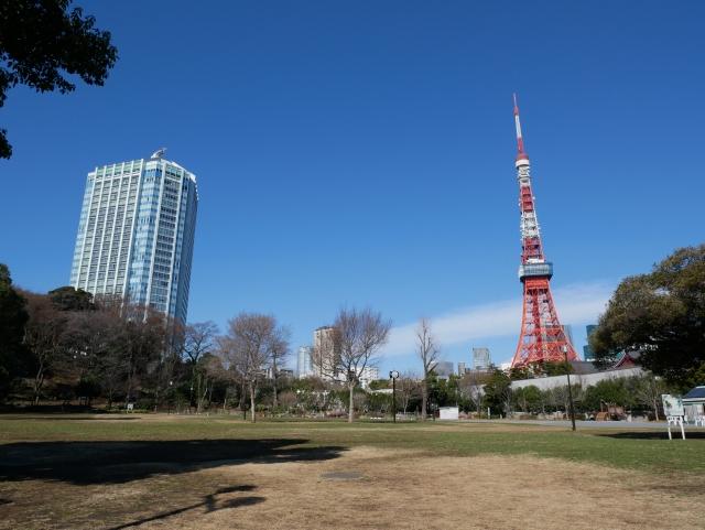 【第5位】ゆったりできる公園「芝公園(しばこうえん)」