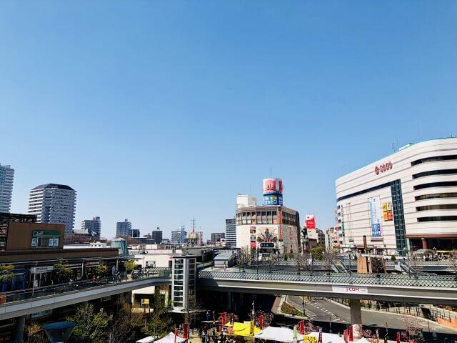 オフィスビルが多い川口駅周辺の環境