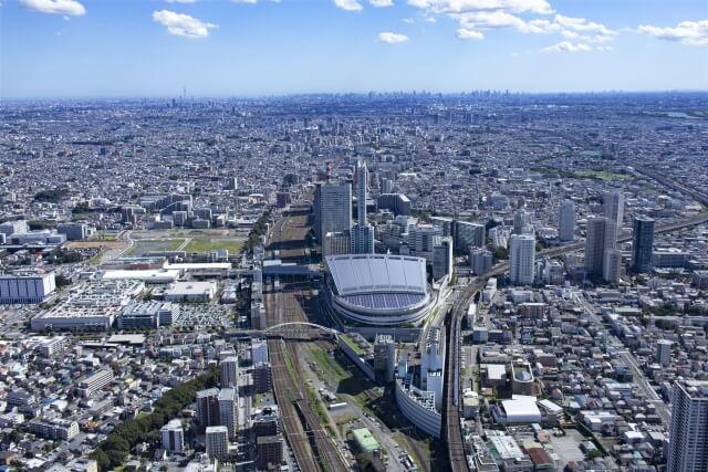さいたま新都心駅を中心に栄える中央区