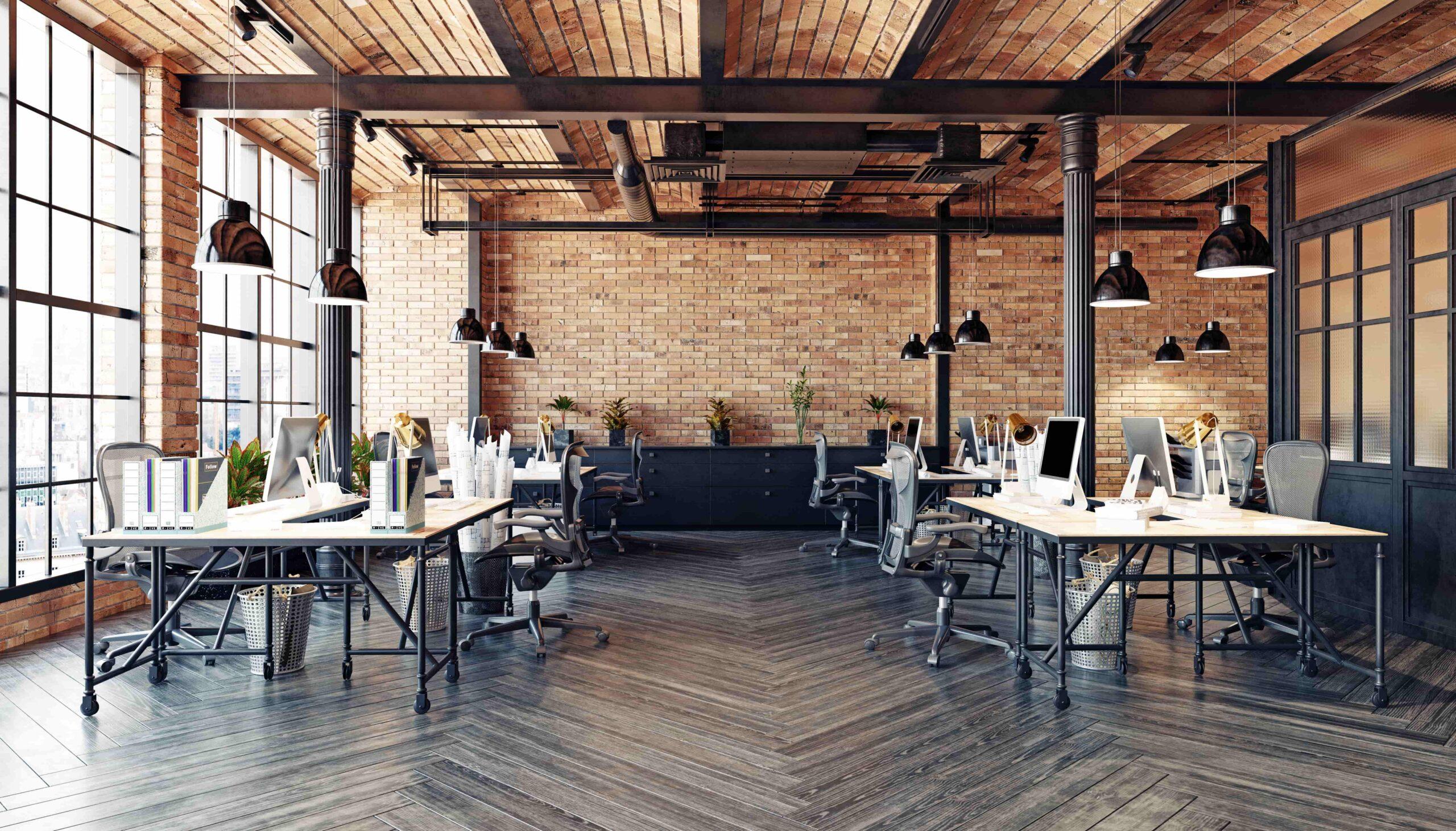 表現性重視のオフィスデザイン
