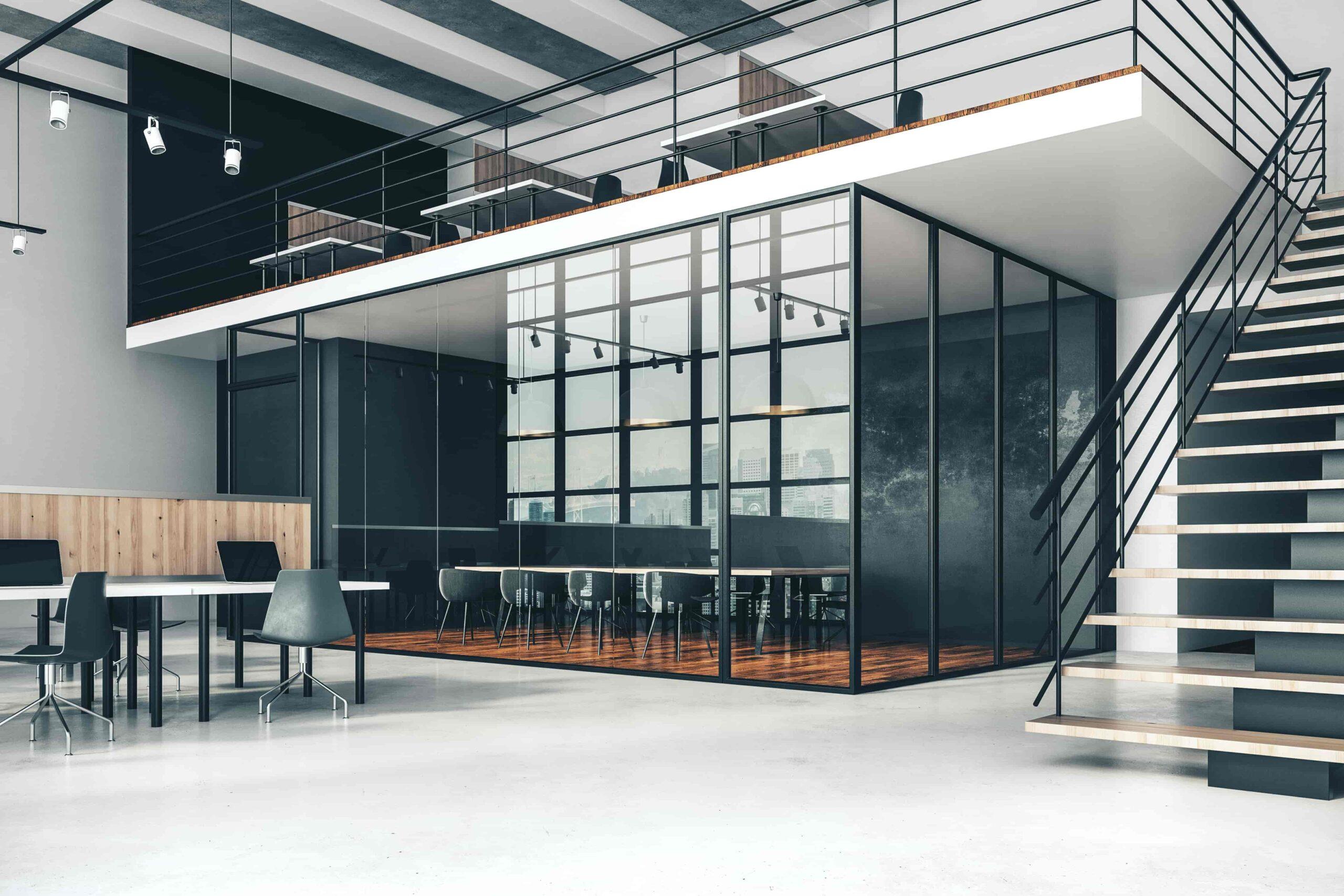 機能性重視のオフィスデザイン