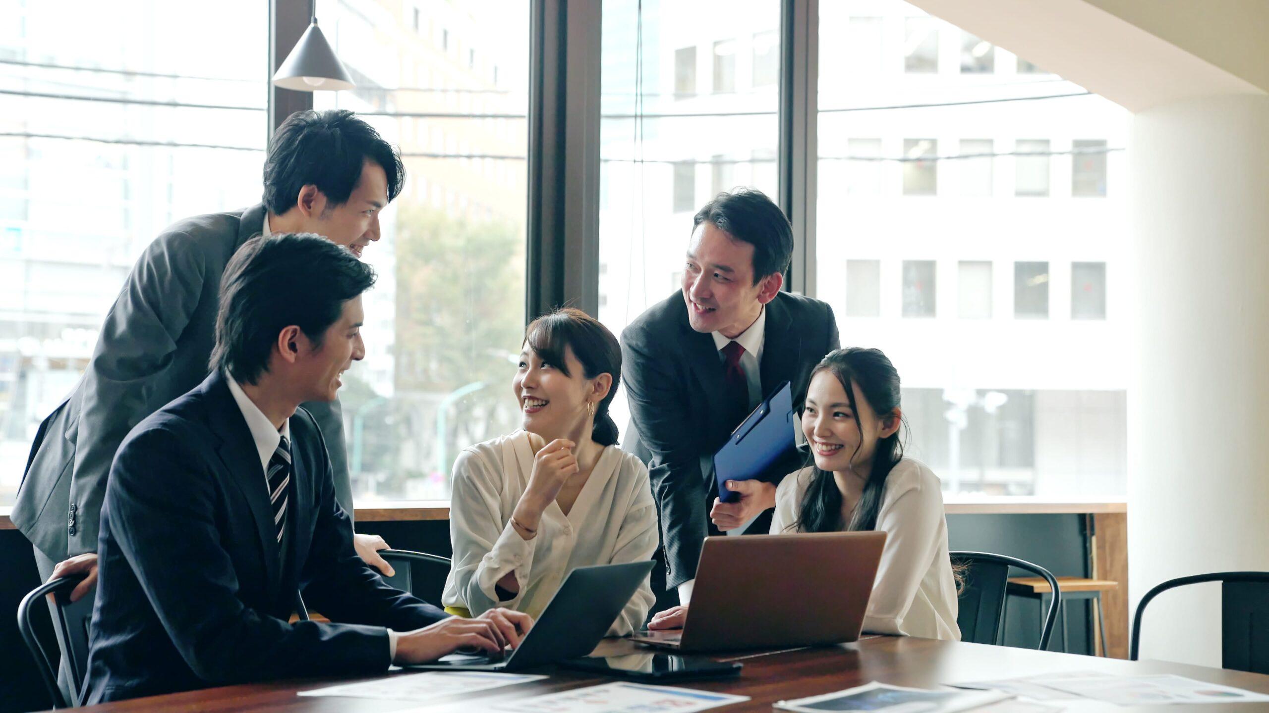 従業員の満足度重視のオフィスデザイン