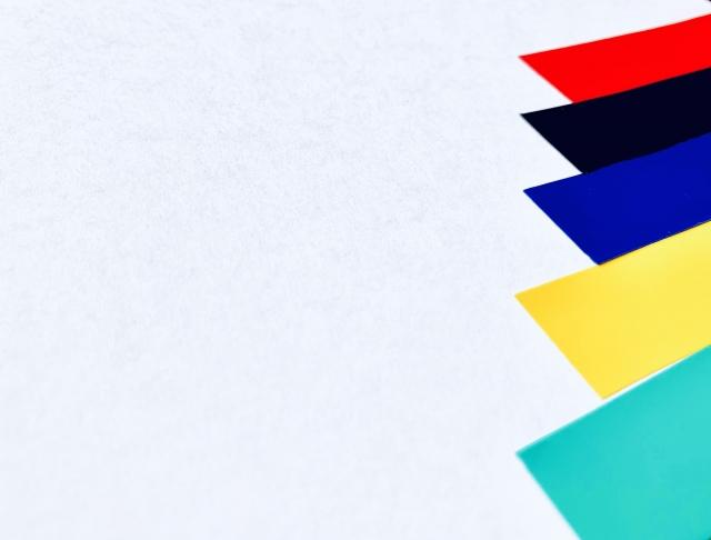 業種によって色を使い分けよう