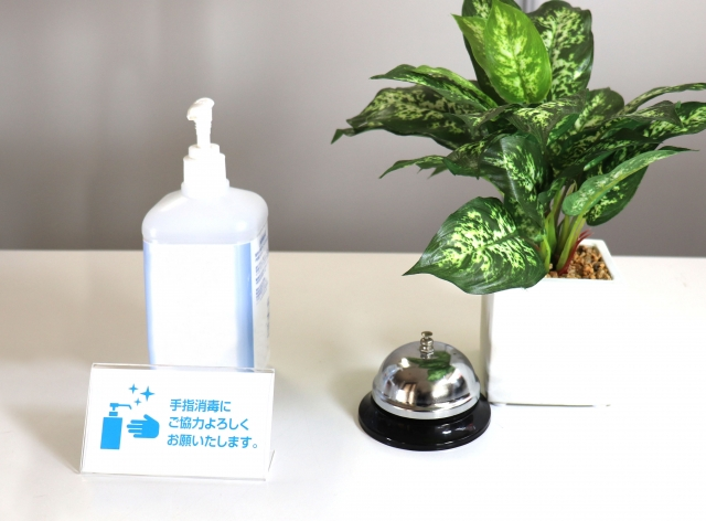 観葉植物はオフィスのここに置こう②エントランスや受付