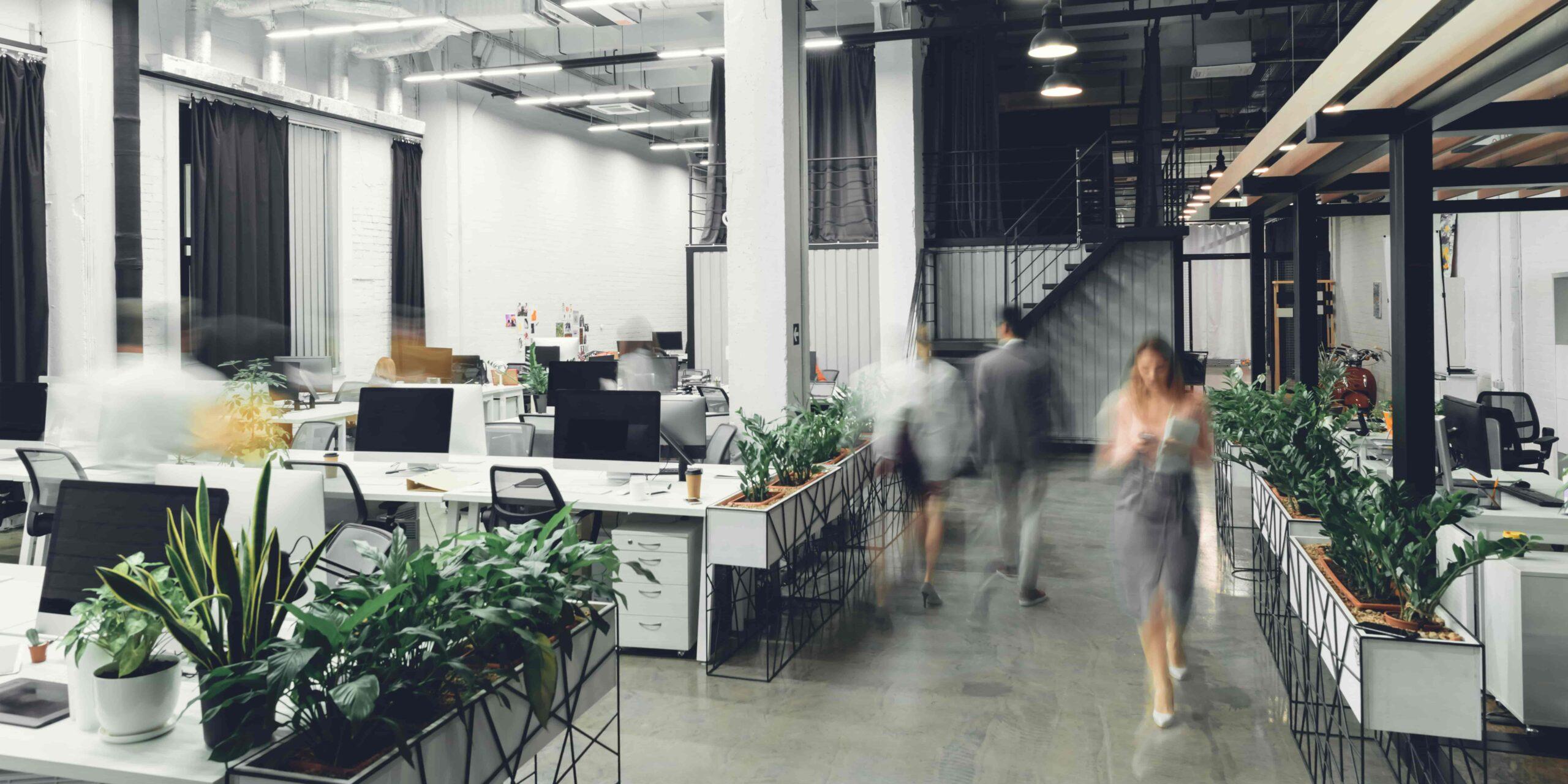 採用活動に効果的なオフィスの在り方