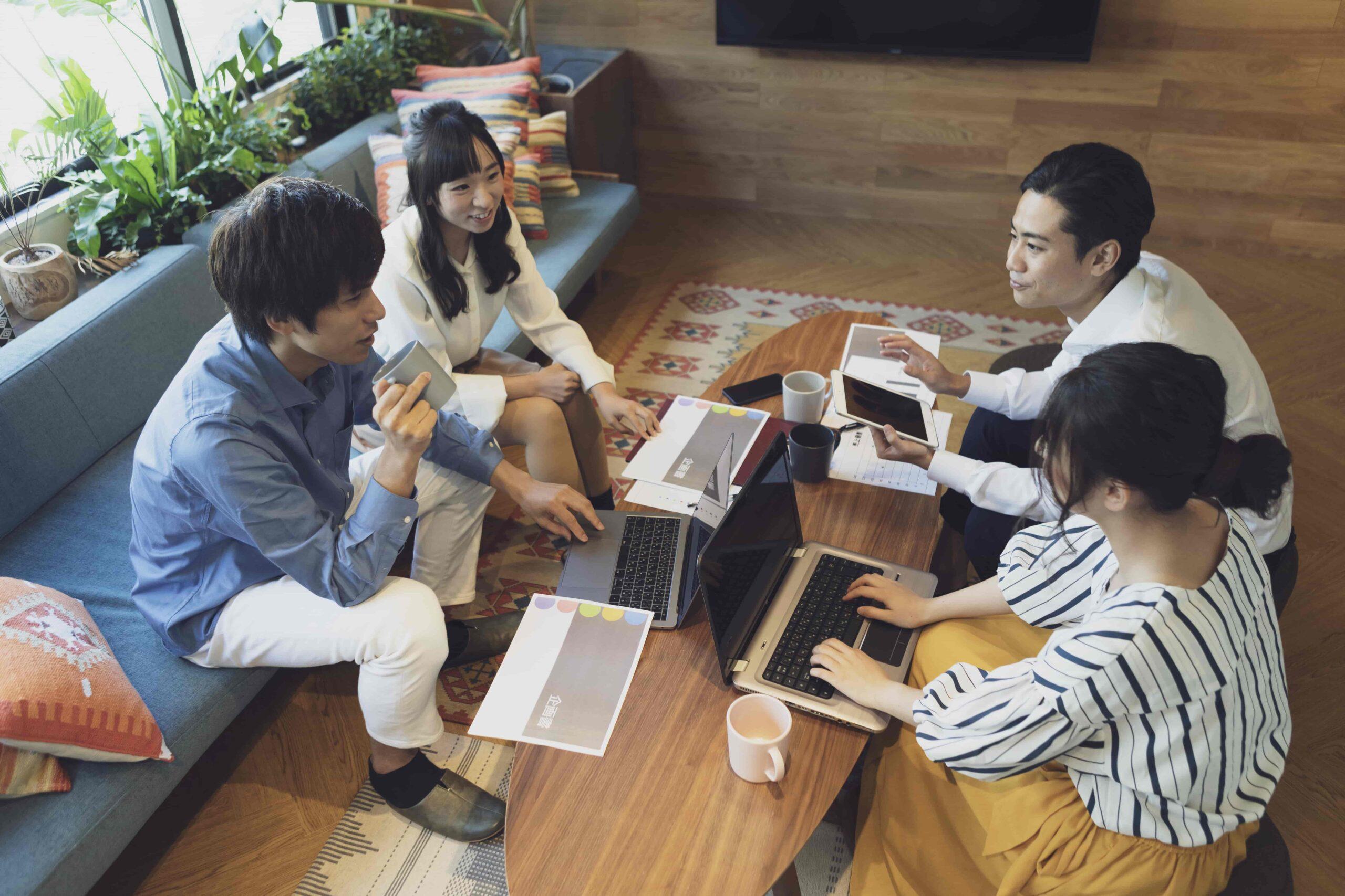 トレンディなオフィスデザインの共通点②重要な時に集まれる場所としてのオフィス