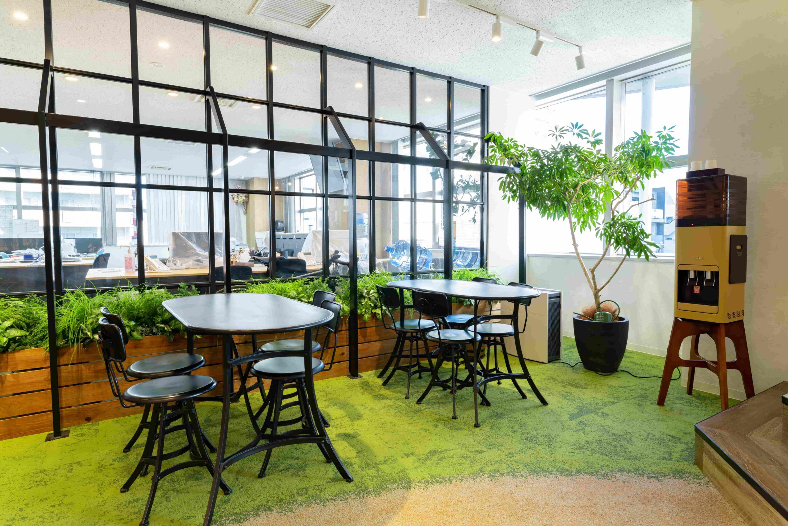 オフィスにコンセプトを盛り込む方法②エントランスのデザイン