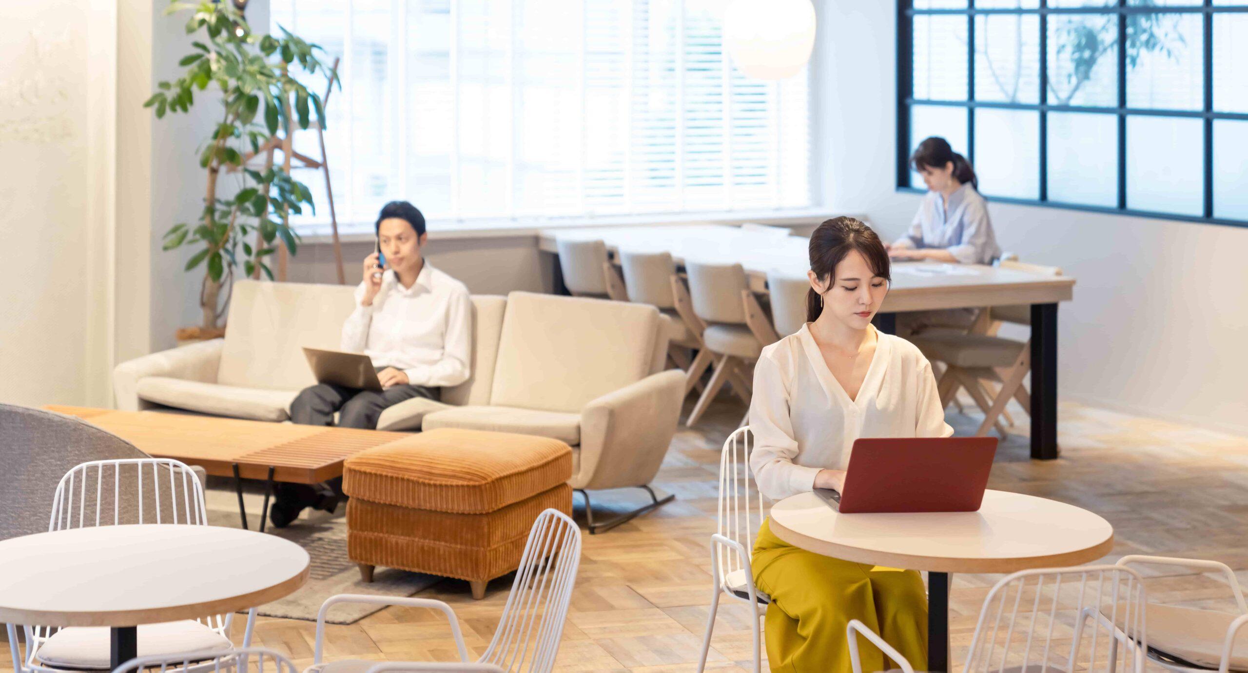 経営課題解決のカギ:オフィス環境と働き方