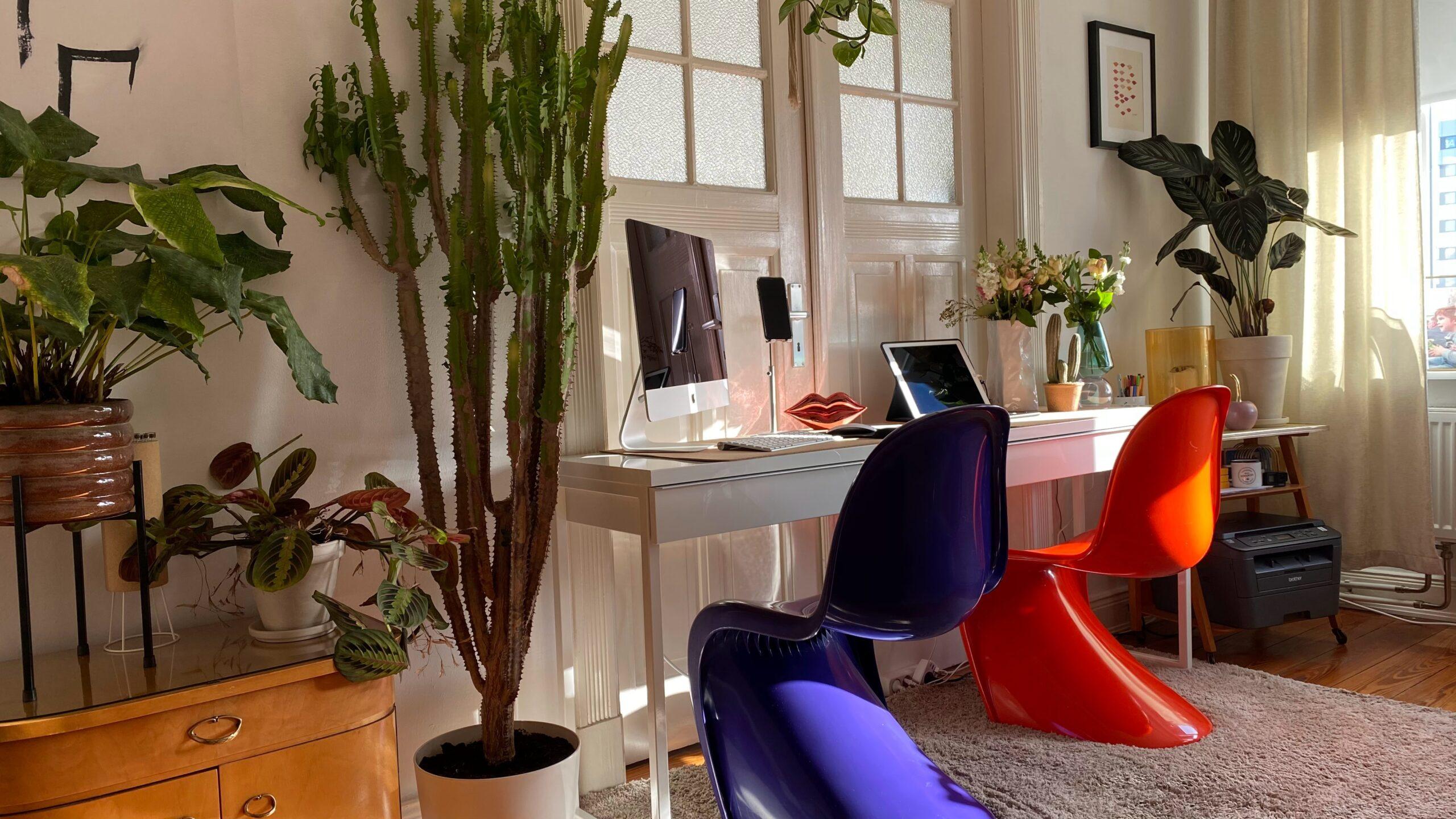 オフィスデザインを変える方法②:オフィスインテリアを変えてみる