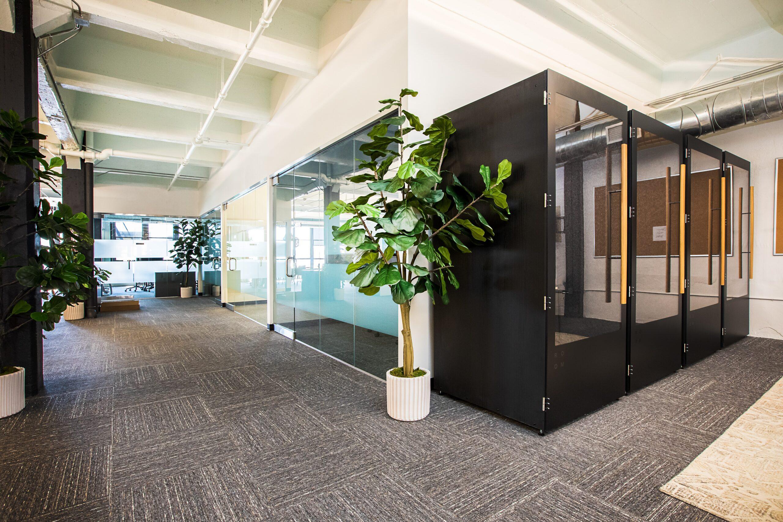 オフィスにおける緑視率を高める方法